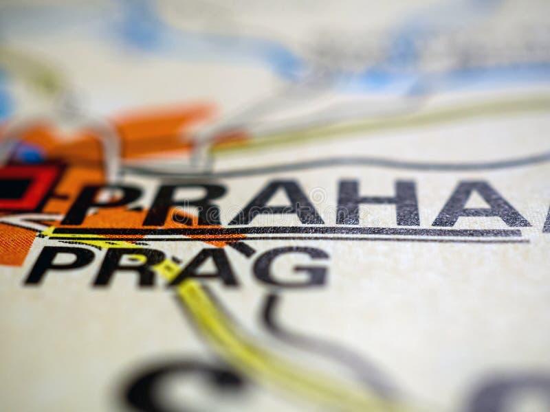 katedralny czeski wzg?rza mala petrzin Praha republiki st strana widok vitus obrazy stock