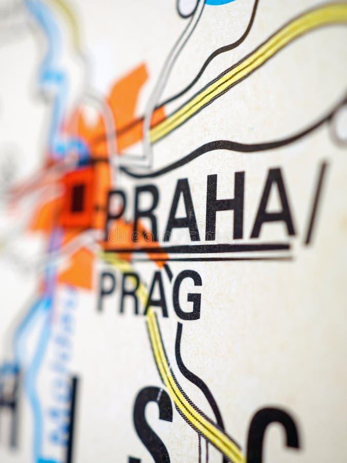 katedralny czeski wzg?rza mala petrzin Praha republiki st strana widok vitus obrazy royalty free