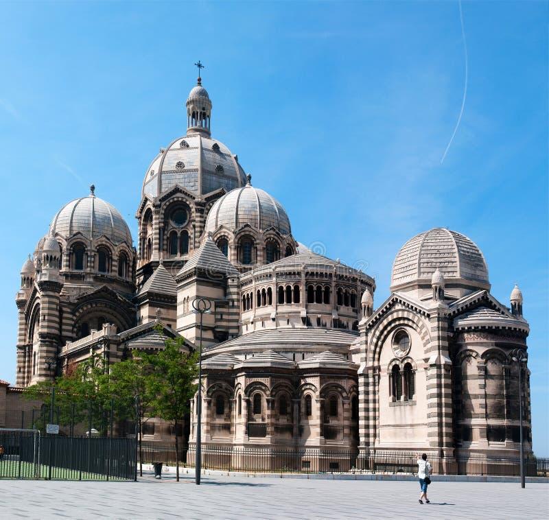 katedralny de losu angeles major Marseille obrazy stock