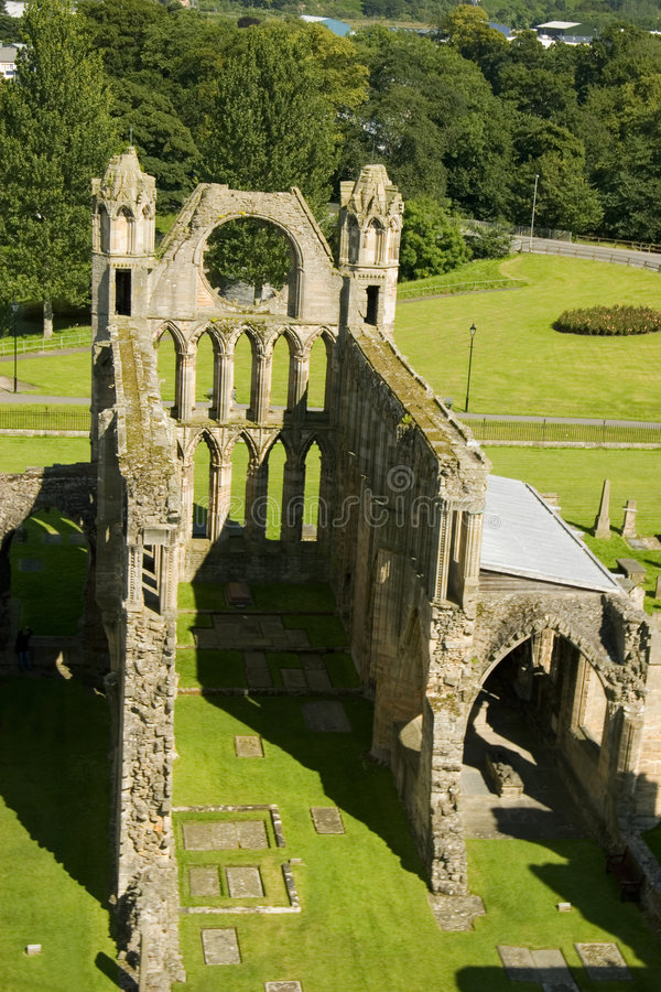 katedralny elgin Scotland zdjęcie stock
