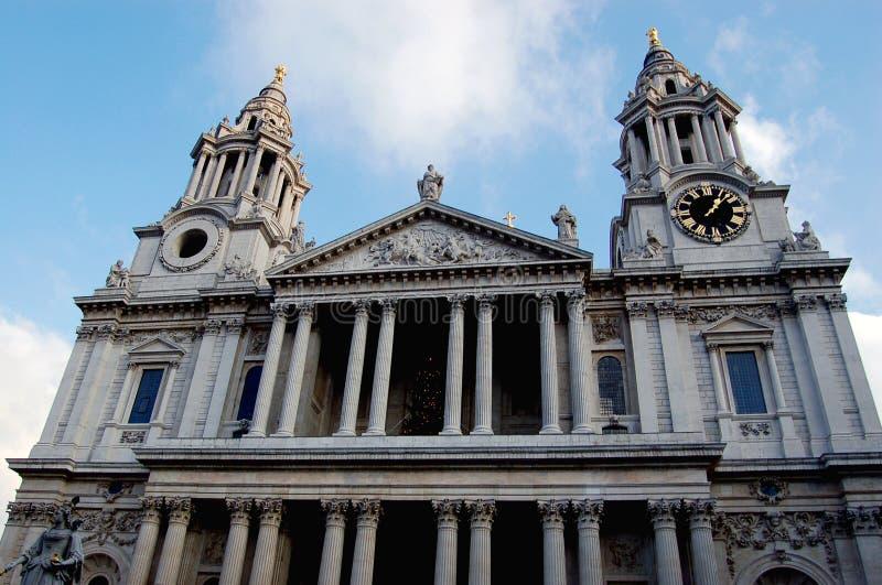katedralny England pauls st zdjęcie royalty free