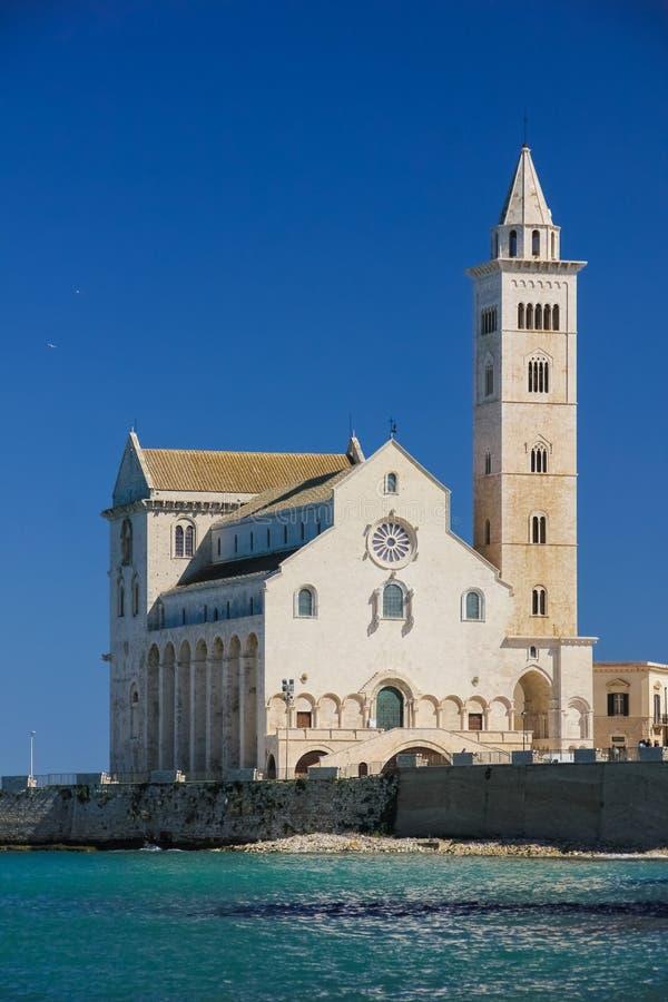 katedralny Europe Italy Pisa romańszczyzny styl Tuscany Trani Apulia Włochy obraz stock