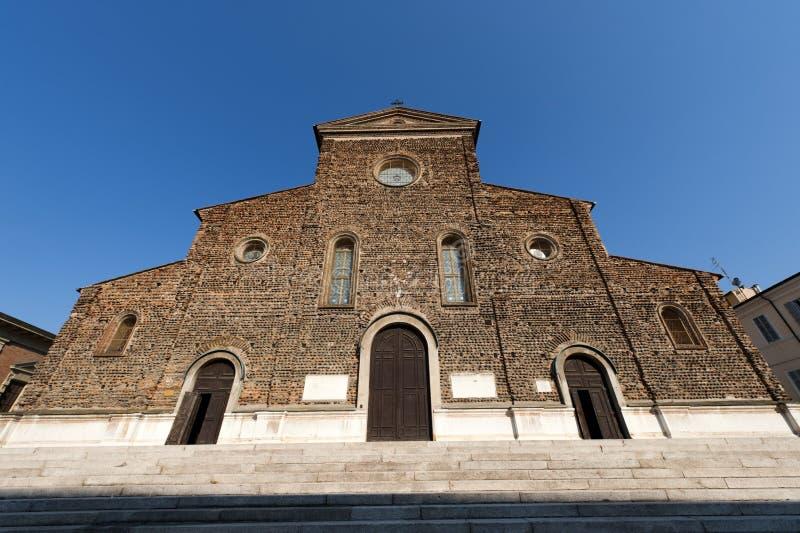 katedralny fasadowy faenza Italy Ravenna obrazy stock