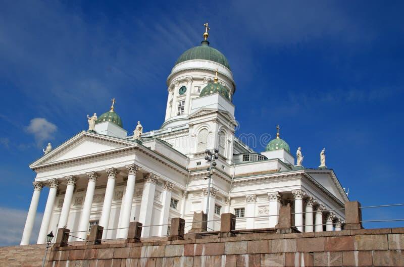 katedralny Finland Helsinki zdjęcie royalty free