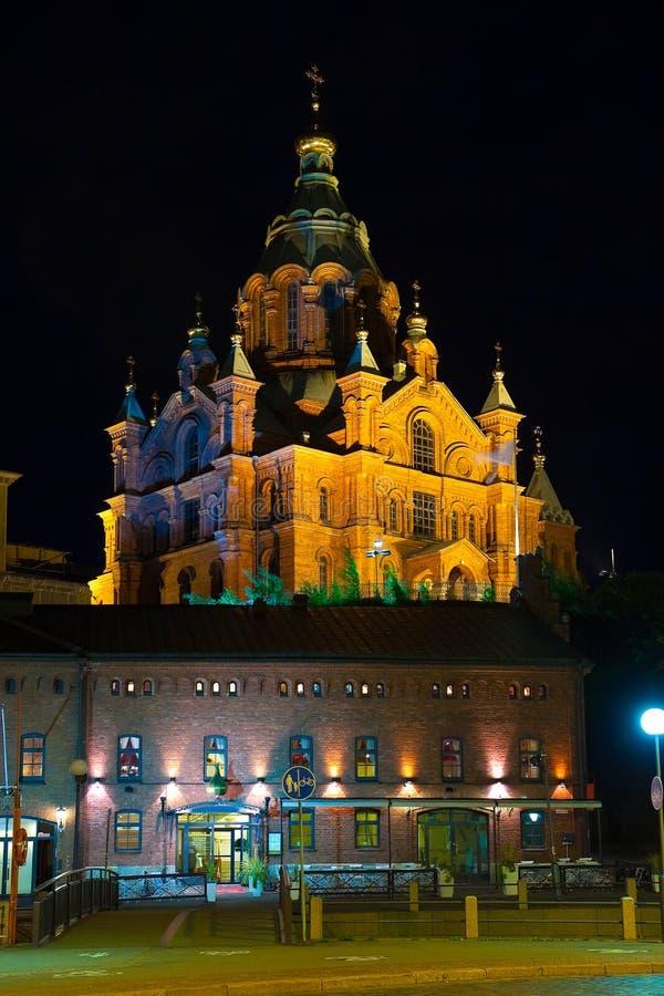 katedralny Finland Helsinki ortodoksyjny fotografia stock