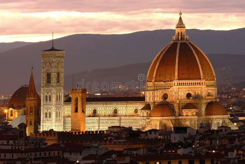 katedralny Florence zdjęcie royalty free