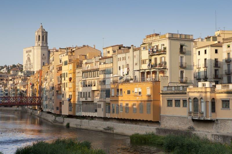 katedralny Girona jego mieści ii obrazy stock