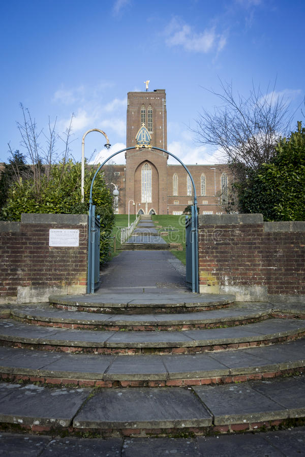 katedralny guildford Surrey zdjęcie stock