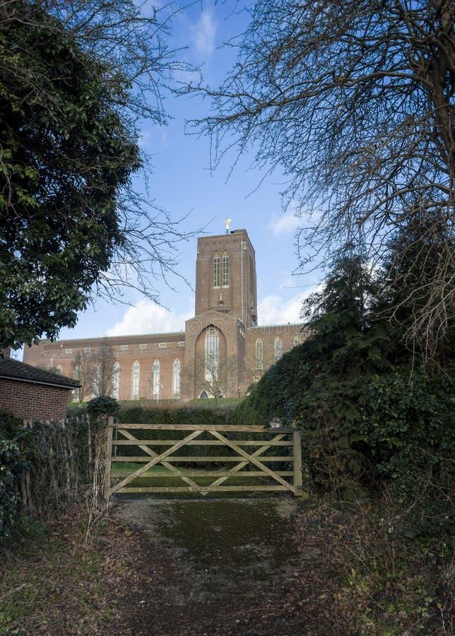 katedralny guildford Surrey obraz royalty free