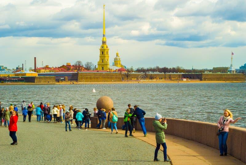 katedralny Isaac cupola Petersburg Rosji jest święty st zdjęcia royalty free