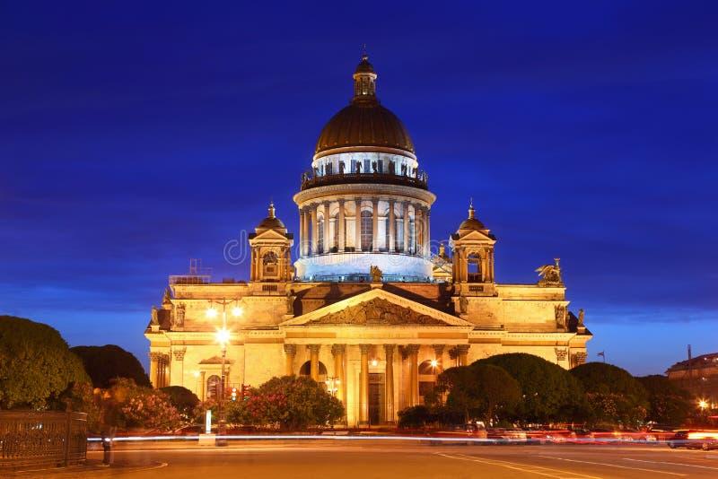katedralny Isaac Petersburg s świętego st zdjęcia royalty free