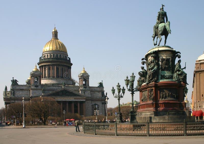 katedralny isaak obraz royalty free