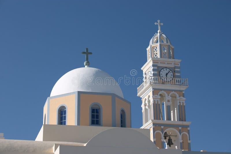 Download Katedralny katolikiem fira zdjęcie stock. Obraz złożonej z kościół - 36254