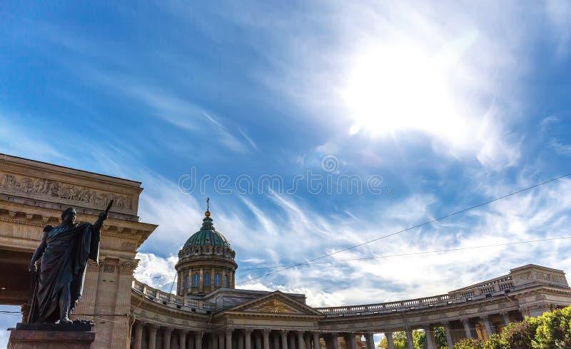 katedralny Kazan kościoła Petersburg rosyjskiego ortodoksyjny st obrazy stock
