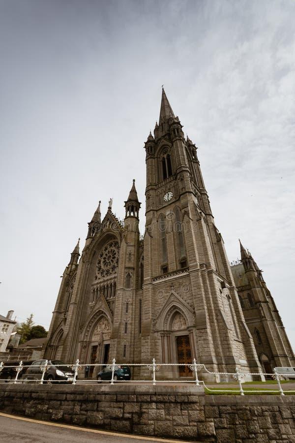 Katedralny kościół St Colman, zazwyczaj znać jako Cobh katedra, jest Rzymskokatolickim katedrą diecezja Cloyne, zdjęcia stock