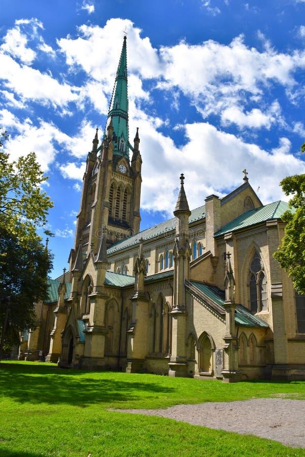 Katedralny kościół St James w Toronto, Ontario zdjęcia stock