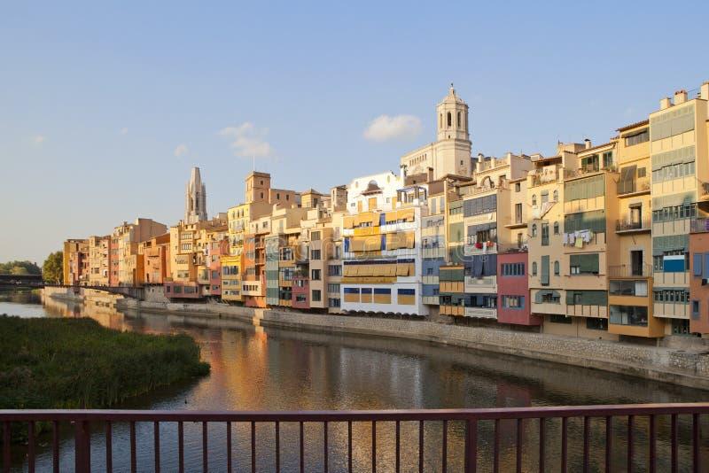 katedralny kościelny felix Girona ii st obraz stock
