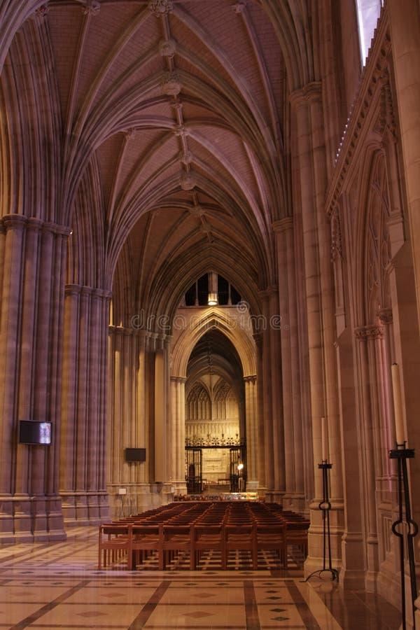 Katedralny korytarz zdjęcia stock