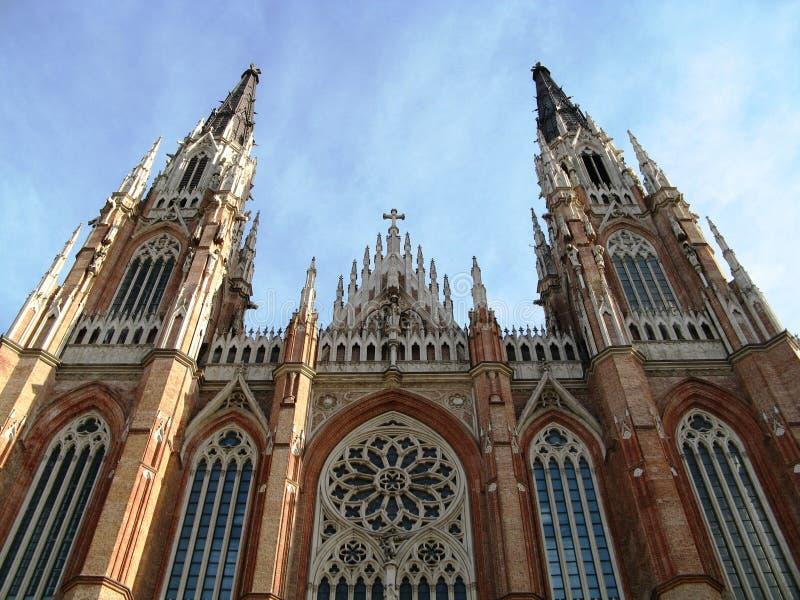 katedralny la plata zdjęcie stock