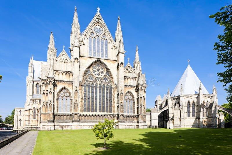 katedralny Lincoln obraz royalty free