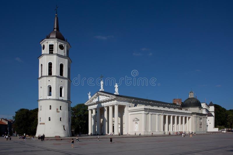 katedralny Lithuania kwadratowy Vilnius zdjęcia royalty free