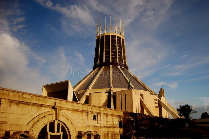 katedralny Liverpool obraz royalty free