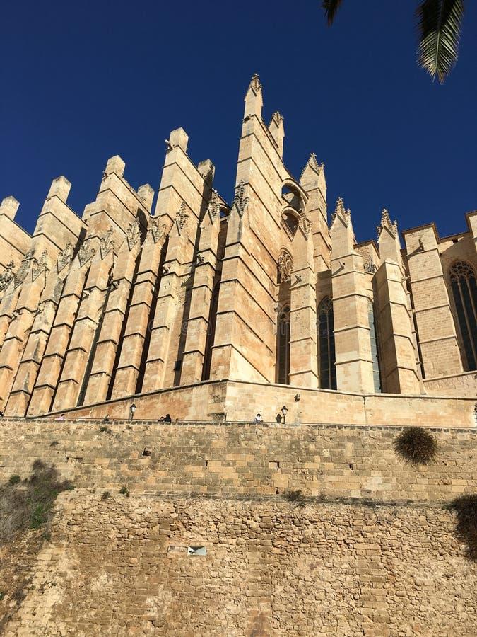 katedralny Mallorca obrazy royalty free