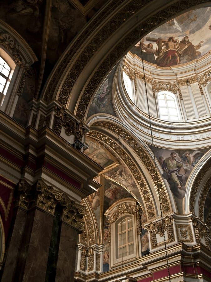 katedralny mdina zdjęcia royalty free