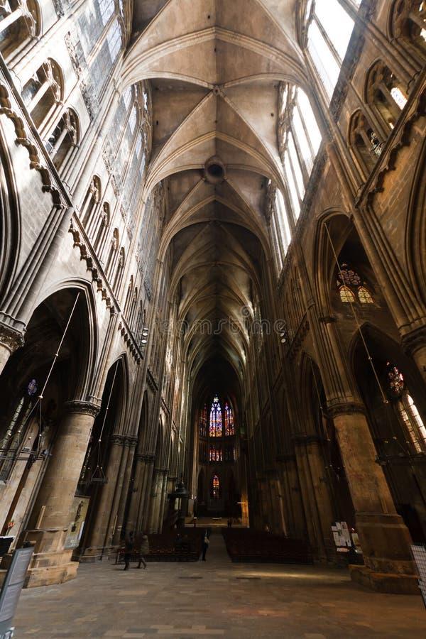 katedralny Metz zdjęcie royalty free