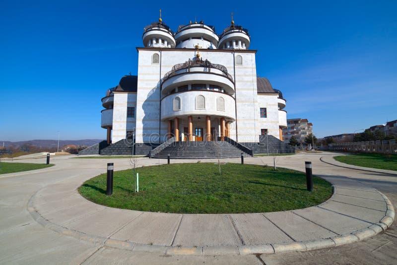 katedralny mioveni ortodoksyjny Romania obrazy royalty free