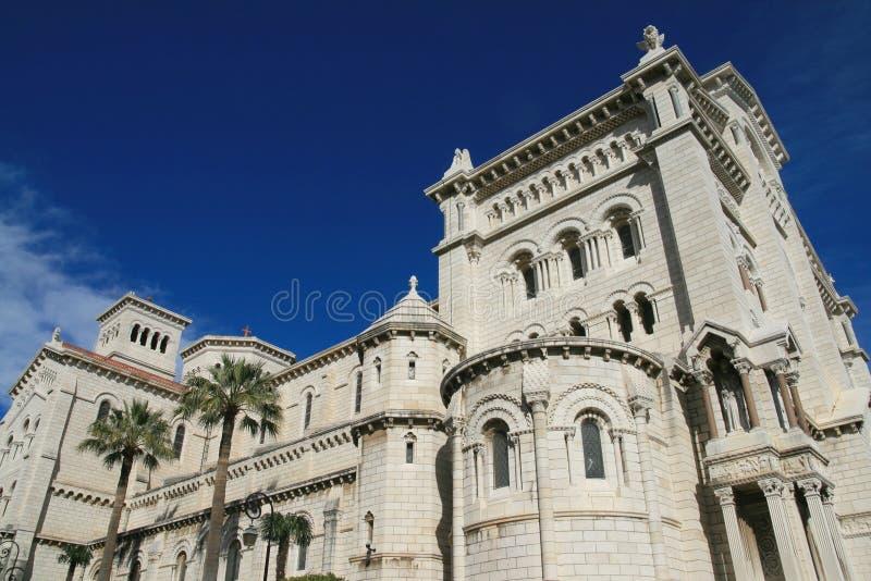 katedralny Monako obrazy royalty free