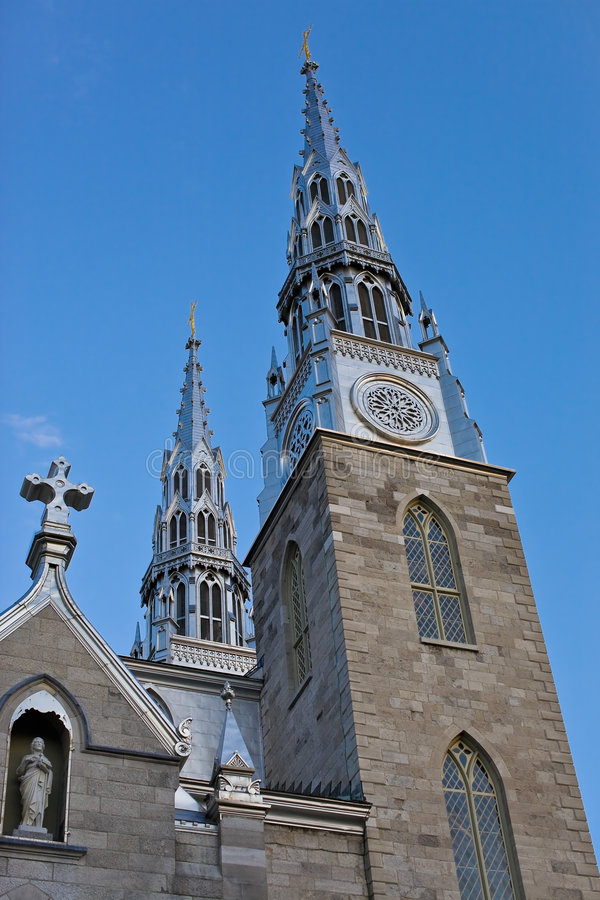 katedralny notre dame fotografia royalty free