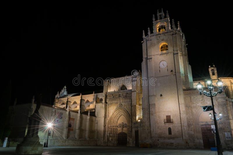 katedralny Palencia zdjęcie royalty free