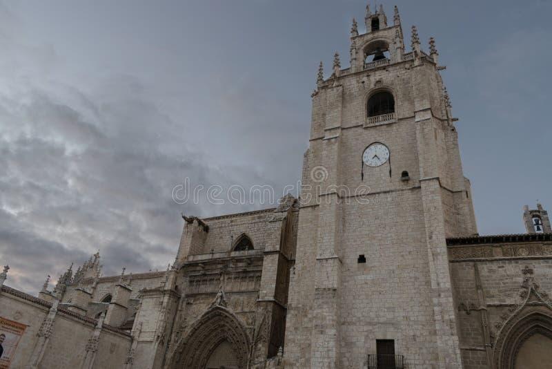 katedralny Palencia fotografia royalty free