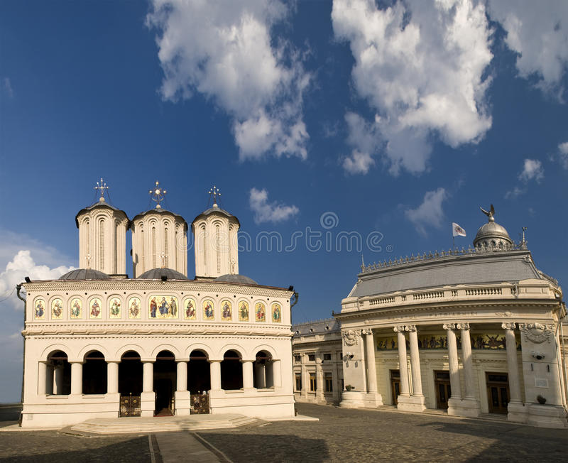 katedralny patriarchalny romanian obrazy royalty free