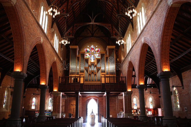 katedralny Perth zdjęcia royalty free