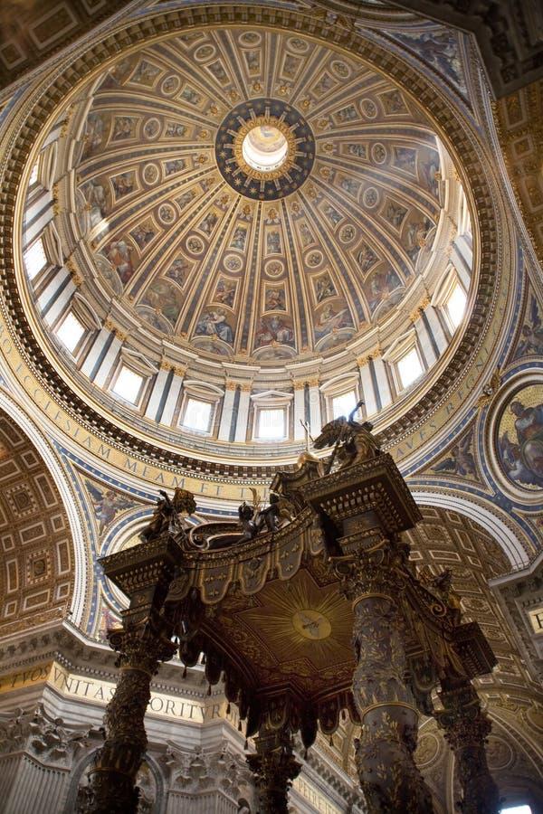 katedralny Peter Włochy Rzymu jest st. fotografia stock