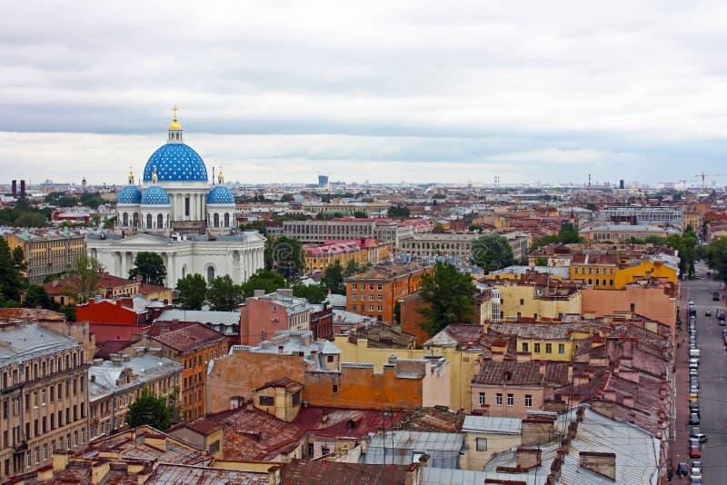 katedralny Petersburg st trinity obrazy stock