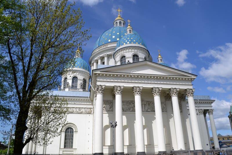katedralny Petersburg st trinity zdjęcia stock