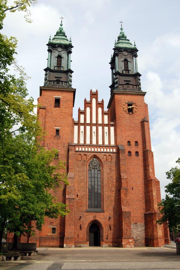 katedralny Poland Poznan obraz stock