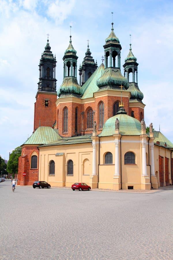 katedralny Poznan zdjęcia stock