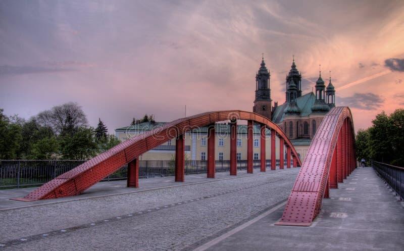 katedralny Poznan obrazy royalty free