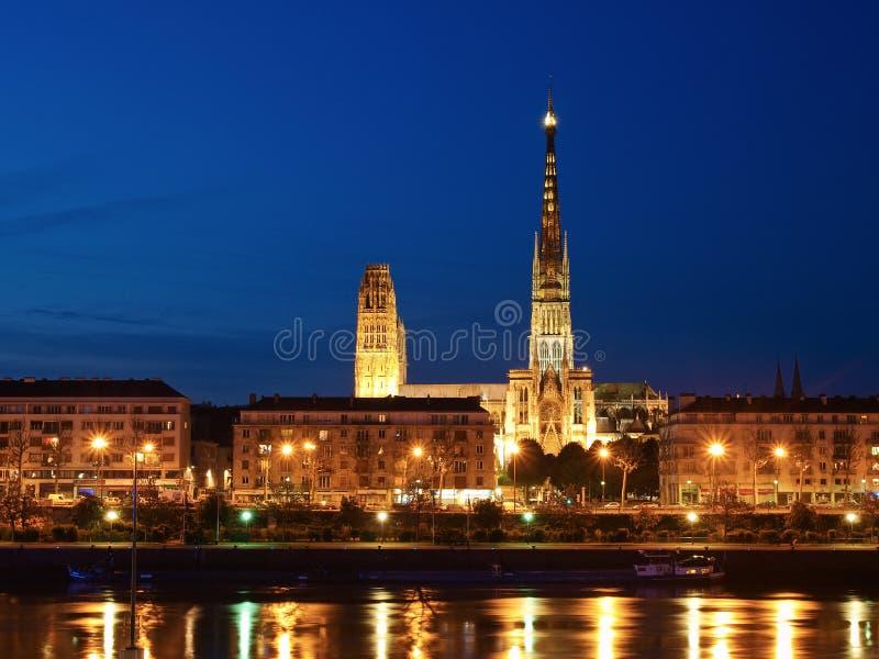 katedralny Rouen zdjęcie royalty free