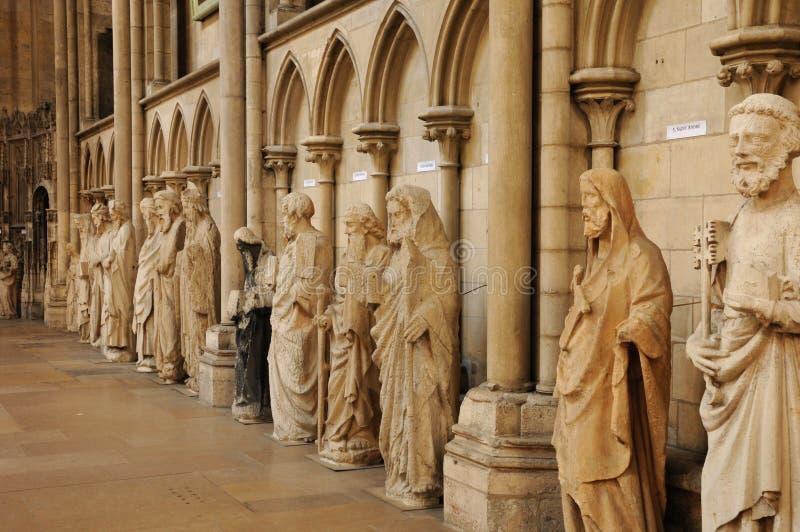 katedralny Rouen fotografia royalty free