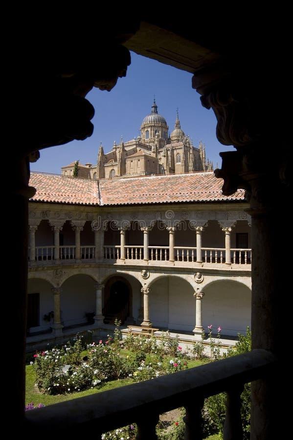 katedralny Salamanca obraz stock