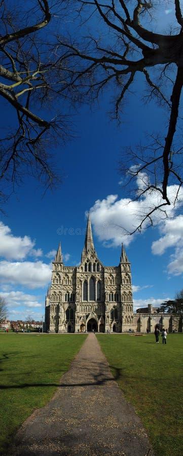 katedralny Salisbury zdjęcia stock