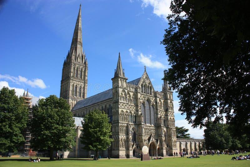 katedralny Salisbury zdjęcia royalty free