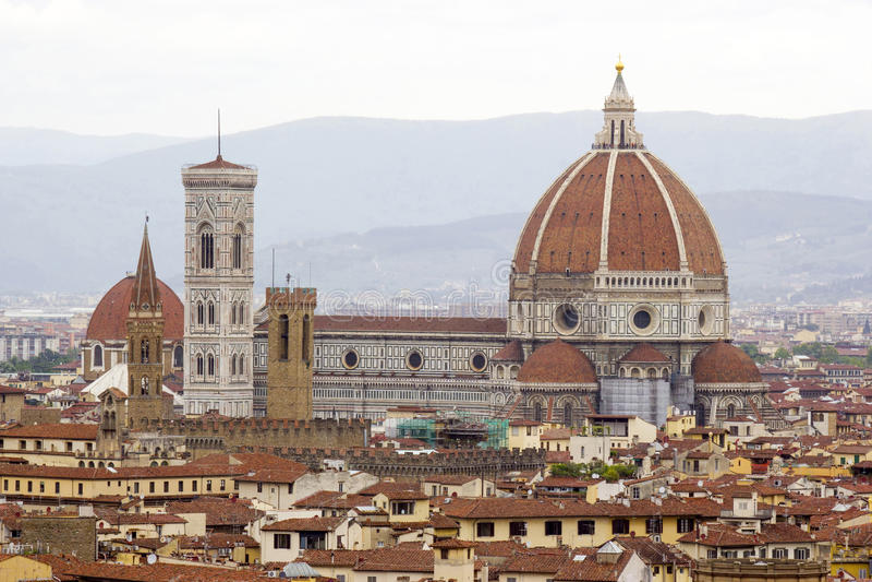 Katedralny Santa Maria Del Fiore zdjęcia royalty free