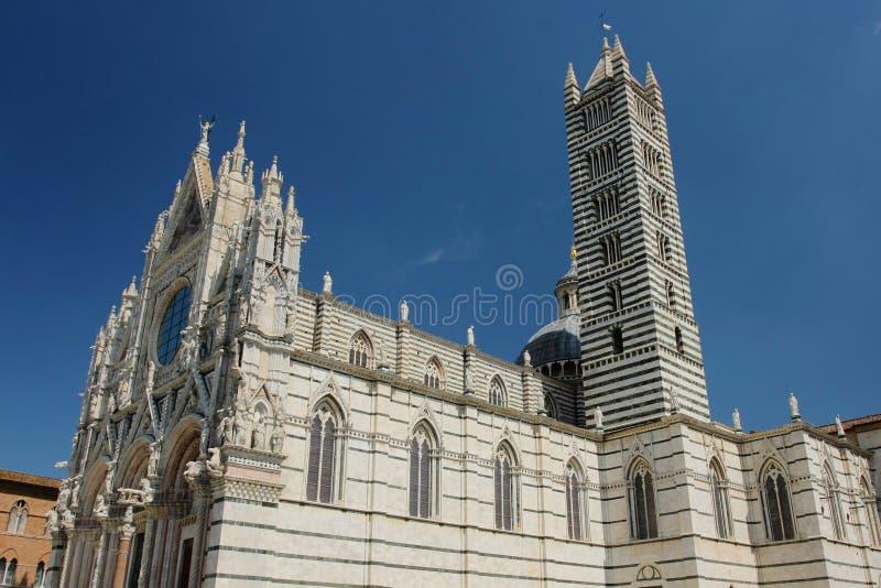 katedralny Siena fotografia stock