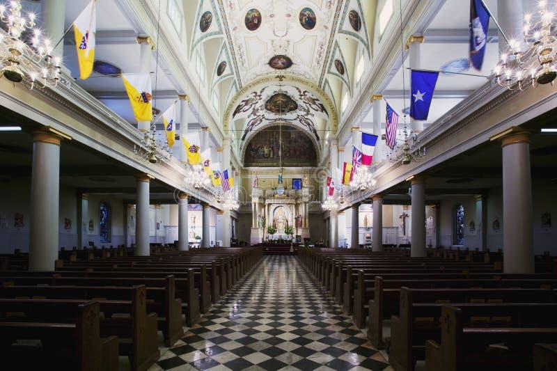 katedralny st louis fotografia royalty free